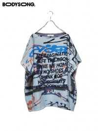 【BODYSONG.】<br>Graffitiknit / WHITE