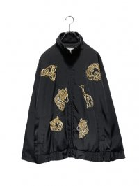 【USED】<br>ANIMAL EMBROIDERY BLOUSON