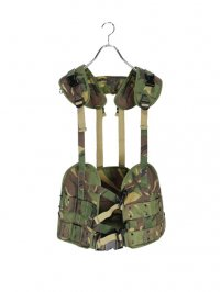 【USED】<br>NETHERLANDS ARMY CAMOUFLAGE TACTICAL VEST