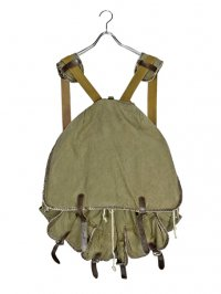 【USED】<br>LACE UP DESIGN MILITARY BIG BACKPACK