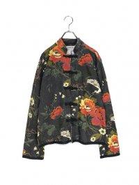【USED】<br>JAPANESE STYLE FLOWER PATTERN CHINA JACKET