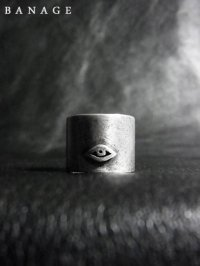【BANAGE】<br>tall RING / SILVER (IBUSHI)