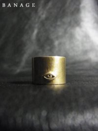 【BANAGE】<br>tall RING / BRASS