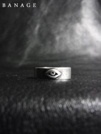 【BANAGE】<br>short RING / SILVER (IBUSHI)