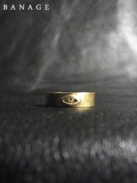 【BANAGE】<br>short RING / BRASS
