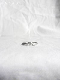 【BANAGE】<br>minimum RING / SILVER