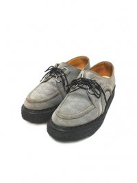 【USED】<br>''GEORGE COX''<br>DACE RUBBER SOLE SHOES / GRAY