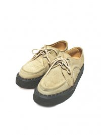 【USED】<br>'GEORGE COX'<br>DACE RUBBER SOLE SHOES / BEIGE