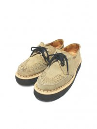 【USED】<br>'GEORGE COX'<br>GIBSON RUBBER SOLE SHOES / BEIGE