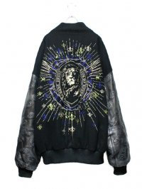 【USED】<br>EMBROIDERY BIG STADIUM JUMPER