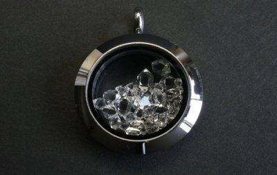 ハーキマーダイアモンド ペンダント Herkimer Diamond Pendant