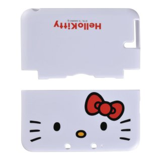 3DS LL用 ハローキティ TPUカバー for 3DSLL(ホワイト)