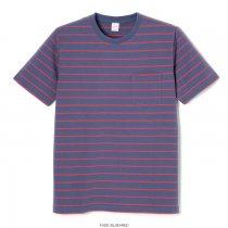 90'sボーダー クルーネック 半袖Tシャツ