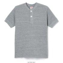 オープンエンドワッフル ARMYヘンリー 半袖Tシャツ