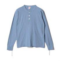 【新色】#906L ヘンリーネック 長袖Tシャツ