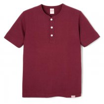 ニューヘンリーネック 半袖Tシャツ (スリムフィット)