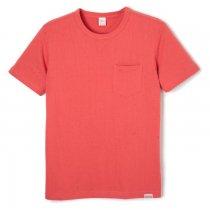 クルーネック 半袖ポケットTシャツ