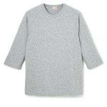 88/12 クルーネック 7分袖Tシャツ