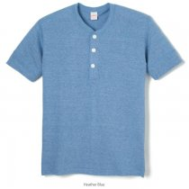 TCR ヘンリーネック 半袖Tシャツ