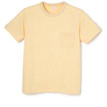 TCメランジ クルーネック 半袖ポケットTシャツ