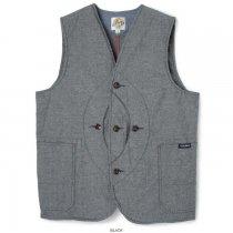 CLASS-5(クラスファイブ) / Chambray Hunting Vest(シャンブレーハンティングベスト)