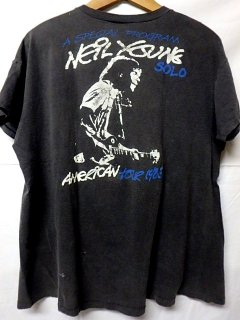 Neil Young 1983 AMERICAN TOUR Tシャツ ニールヤング