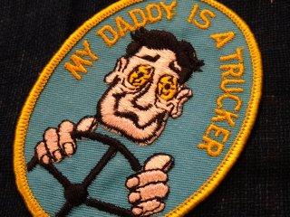 デッドストック ビンテージワッペン #20 My Daddy オーバーワークジャンキー