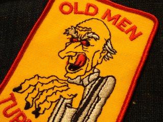 ビンテージ デッドストックワッペン アイテム#29 Old Man 2000円以上お買い上げで送料無料中!