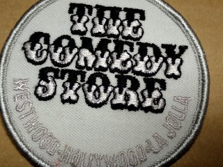 ビンテージ デッドストックワッペン アイテム#38 Comedy Store 1970'S