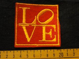 ビンテージ デッドストックワッペン アイテム#44 LOVE 1970'S