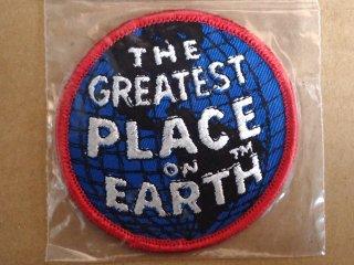 ビンテージ デッドストックワッペン アイテム#45 地球 1970'S