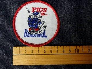 ビンテージ デッドストック アイテム#69 Pig is Beautiful 2000円以上お買い上げで送料無料中! 1970'S