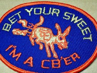 ビンテージ デッドストック アイテム#78 I'm a cber 1970'S