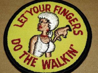 ビンテージ デッドストック アイテム#84 Do the walkin 1970'S