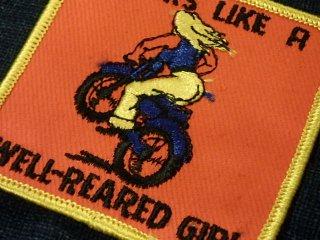 ビンテージデッドストック ワッペン #187 Bikers 1970'S