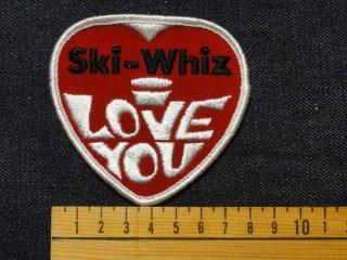 ビンテージ デッドストック ワッペン #196 Ski 1970'S