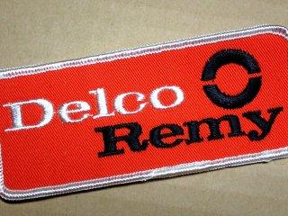 デッドストック ビンテージ ワッペン #221  Delco 1970'S