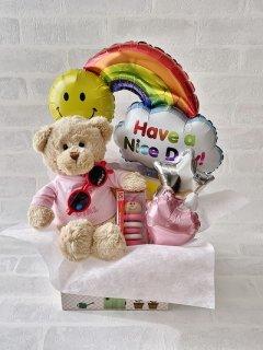 出産祝い ギフトセット 木のおもちゃ Diaper TRUNK 女の子 送料無料