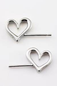 stand devil heart heart ear silver