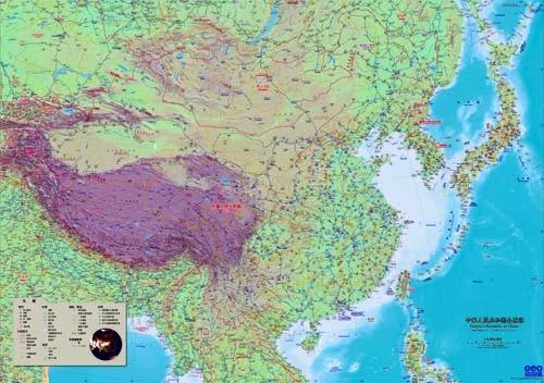 中華人民共和国(中国)全域 - 地図ちず店
