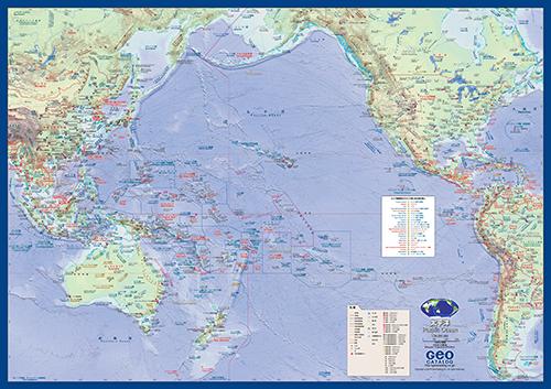 太平洋 - 地図ちず店