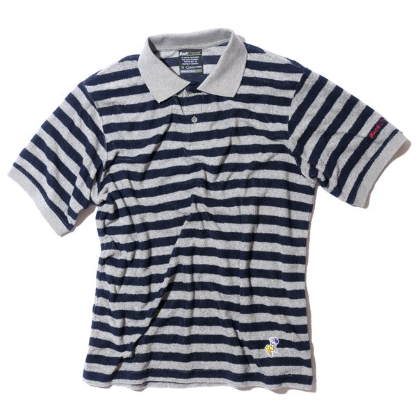 BackChannel バックチャンネル PILE BORDER POLO SHIRT 1
