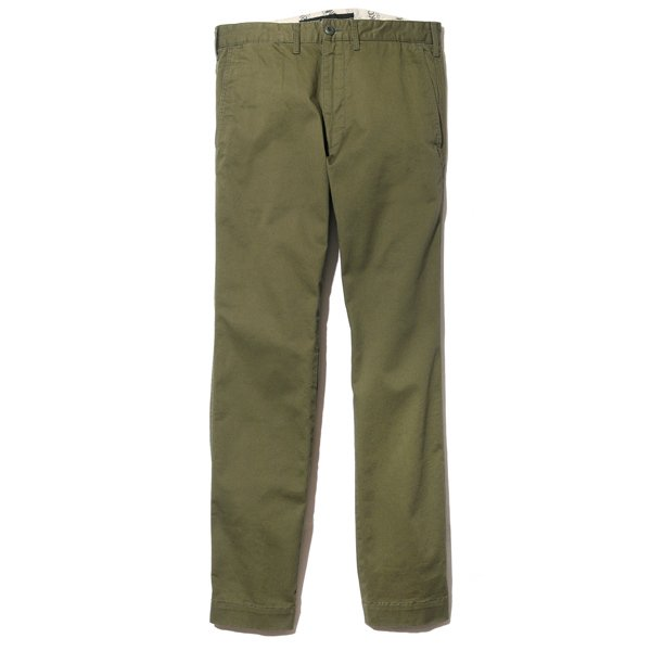 BackChannel バックチャンネル VENTILE STRETCH SKINNY CHINO PANTS 1