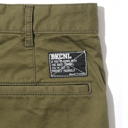 BackChannel バックチャンネル VENTILE STRETCH SKINNY CHINO PANTS
