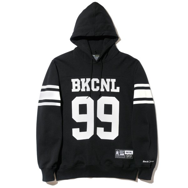 BackChannel バックチャンネル FOOTBALL PULLOVER PARKA