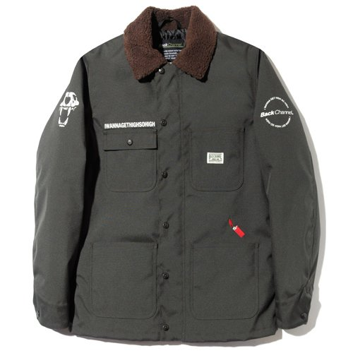 BackChannel バックチャンネル CORDURA COVERALL JACKET 1