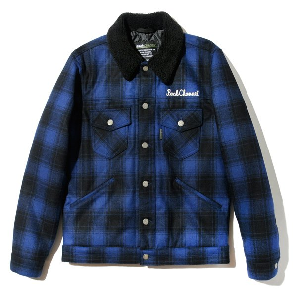 BackChannel バックチャンネル WOOL TRACKER JACKET