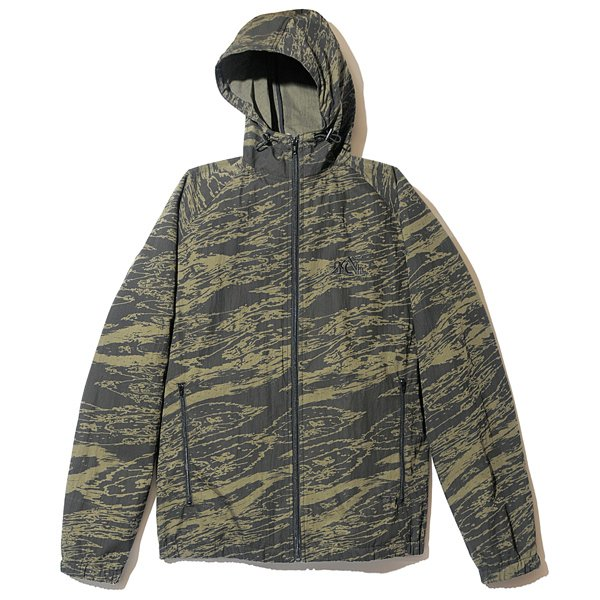 BackChannel バックチャンネル GHOSTLION CAMO CAMO HOODED JACKET 1
