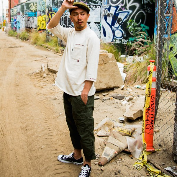 BackChannel バックチャンネル CROPPED CARGO PANTS