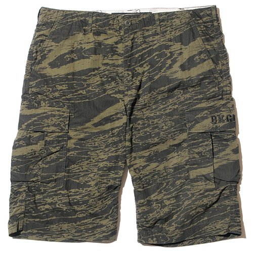 BackChannel バックチャンネル GHOSTLION CAMO CARGO SHORTS 1
